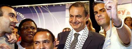Zapatero Palestina