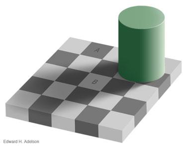 Ilusión Optica Ajedrez