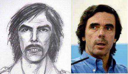 Retrato Robot Aznar