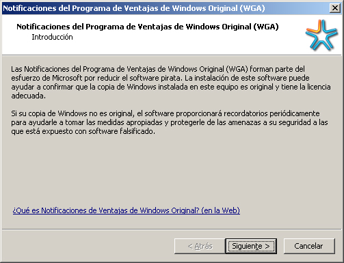 Sacar ventana Notificacion Windowa Original (WGA)